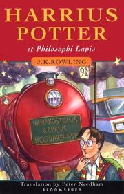 Cover of: Harrius Potter et Philosophi Lapis by J. K. Rowling