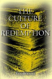 The culture of redemption PDF