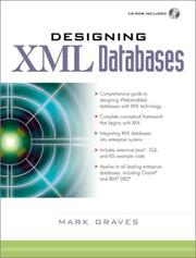Designing XML Databases by Mark Graves