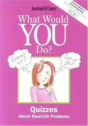 What Would You Do? (American Girl Library) PDF