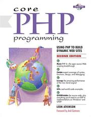 Core PHP Programming by Leon Atkinson