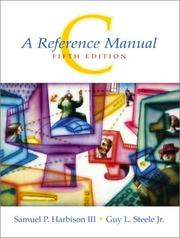 C, a reference manual PDF