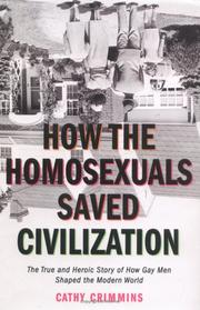 How the Homosexuals Saved Civilization PDF