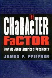 The Character Factor PDF