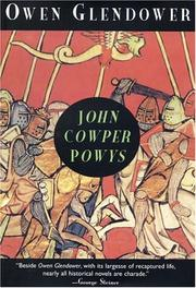 Owen Glendower by John Cowper POWYS