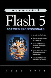 Essential Flash 5 For Web Professionals by Lynn Kyle