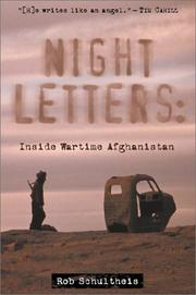 Night letters by Rob Schultheis