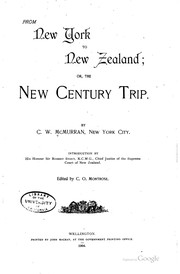 From New York to New Zealand: Or, The New Century Trip