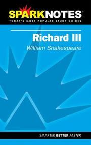 Spark Notes Richard III PDF