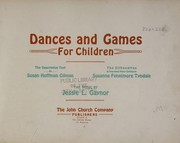 Dances and games for children