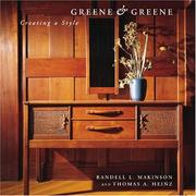 Greene &amp; Greene by Randell L. Makinson