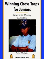Winning Chess Traps for Juniors PDF
