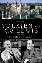 Tolkien and C. S. Lewis by Colin Duriez