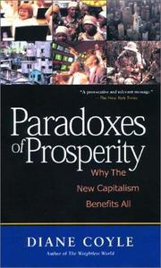 Paradoxes of prosperity by Diane Coyle
