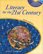 Cover of: Literacy for the 21st century by Gail E. Tompkins