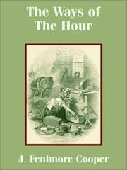 The ways of the hour by James Fenimore Cooper
