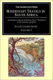 Missionary Travels in South Africa PDF