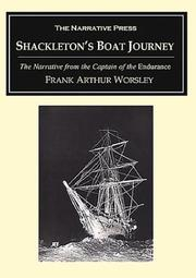 Shackleton&#39;s Boat Journey by Frank Arthur Worsley