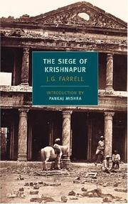 The siege of Krishnapur by James Gordon Farrell