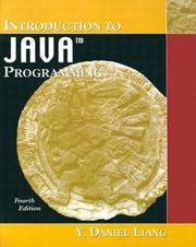 Introduction to Java Programming by Y. Daniel Liang