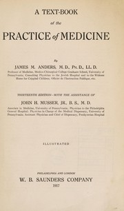 A text-book of the practice of medicine