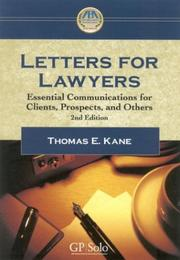Letters for lawyers PDF