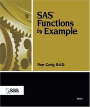 SAS functions by example PDF
