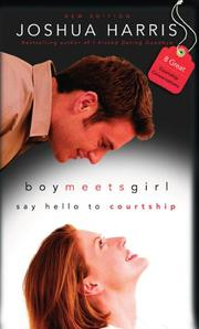 Cover of: Boy Meets Girl | Joshua Harris