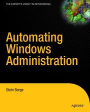 Automating Windows administration by Stein Borge