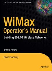 WiMax Operator's Manual by Daniel Sweeney