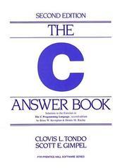 The C answer book PDF