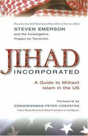 Cover of: Jihad Incorporated by Steven Emerson