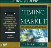 Timing the market PDF