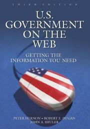 U.S. government on the Web by Hernon, Peter.