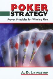 Poker Strategy by A. D. Livingston