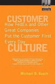 Customer Culture by Michael D. Basch