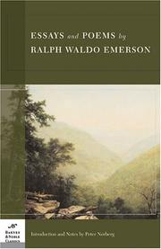 Essays & Poems by Ralph Waldo Emerson PDF