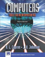 Computers by H. L. Capron