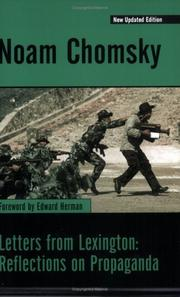 Cover of: Letters from Lexington by Noam Chomsky