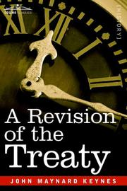A revision of the Treaty by John Maynard Keynes