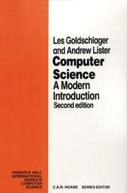 Computer science by L. Goldschlager