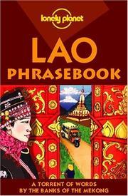 Lonely Planet Lao Phrasebook (Lonely Planet Lao Phrasebook) PDF