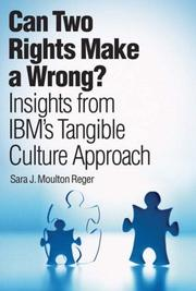 Can Two Rights Make a Wrong? by Sara J. Moulton Reger