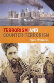 Terrorism explained by Williams, Clive