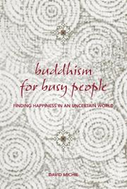 Buddhism for Busy People by David Michie