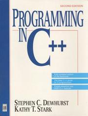 Programming in C[plus plus] PDF