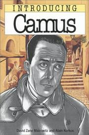 Introducing Camus by David Zane Mairowitz