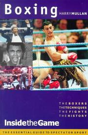 Boxing (Inside the Game) PDF