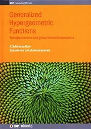 Generalized Hypergeometric Equation
