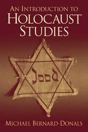 An Introduction to Holocaust Studies by Michael F. Bernard-Donals